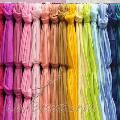 Por lotes de 12 unidades Pashmina de colores