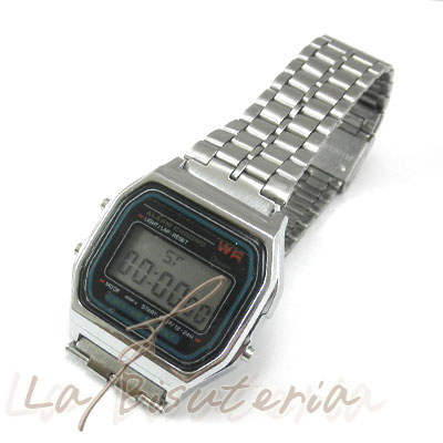 91ae66939a4b La Bisutería   Comentarios de clientes en Reloj F-91W Plateado ...