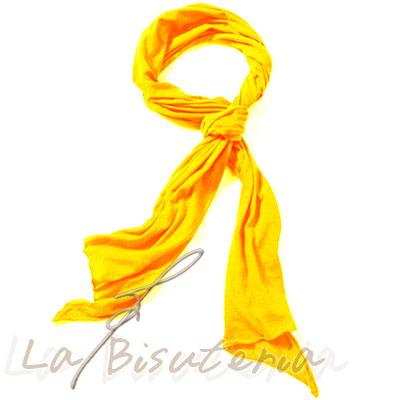 Foulard fluor color naranja flúor